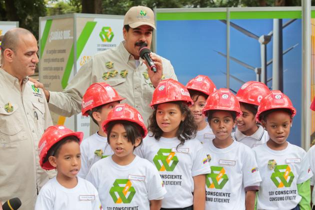 Presidente Maduro lanza campaña para promover el uso racional de la