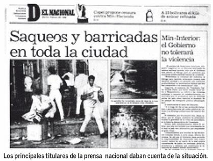el 27 de febrero de 1989 sera recordado como el dia en que se usaron
