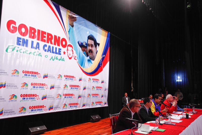 Gobierno de Eficiencia en la Calle Un año recorriendo Venezuela