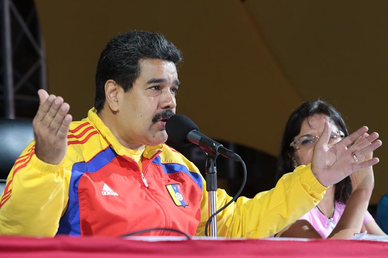 Nicolás Maduro. Foto: Francisco Batista / MinCI