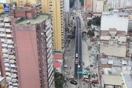 Inaugurado elevado de la avenida San Martín de Caracas - MinCI (Comunicado de prensa)