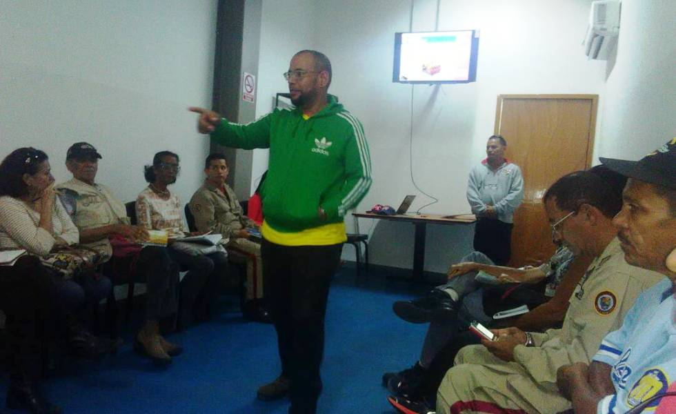 MRD ofreció taller de formación en la Gran Base de Misiones de El Valle