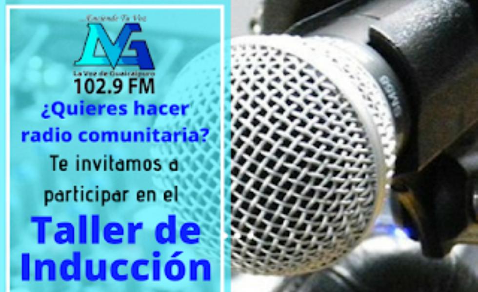 Anímate a hacer radio comunitaria con este taller