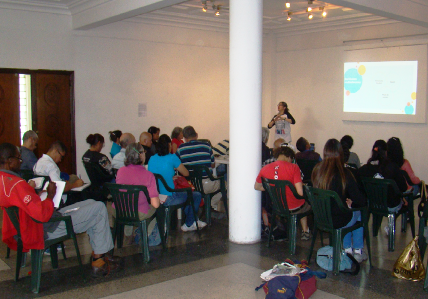 """Este sábado, en los espacios de la Casa de la Cultura """"Cecilo Acosta"""" en Los Teques, se dictó el Taller de Inducción en Radio Comunitaria, por parte de la Radio Comunitaria La Voz de Guaicaipuro"""