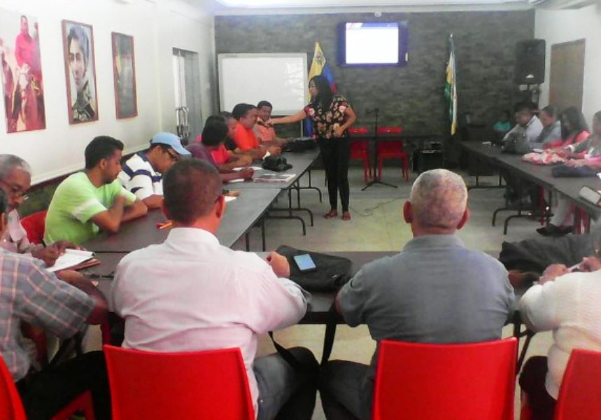Integrantes de medios comunitarios y alternativos de Guárico participaron en talleres de formación en producción, locución radiofónica y oratoria, organizados por Conatel