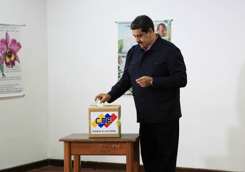 Maduro aseguró que Estados Unidos planea un golpe de estado contra Venezuela