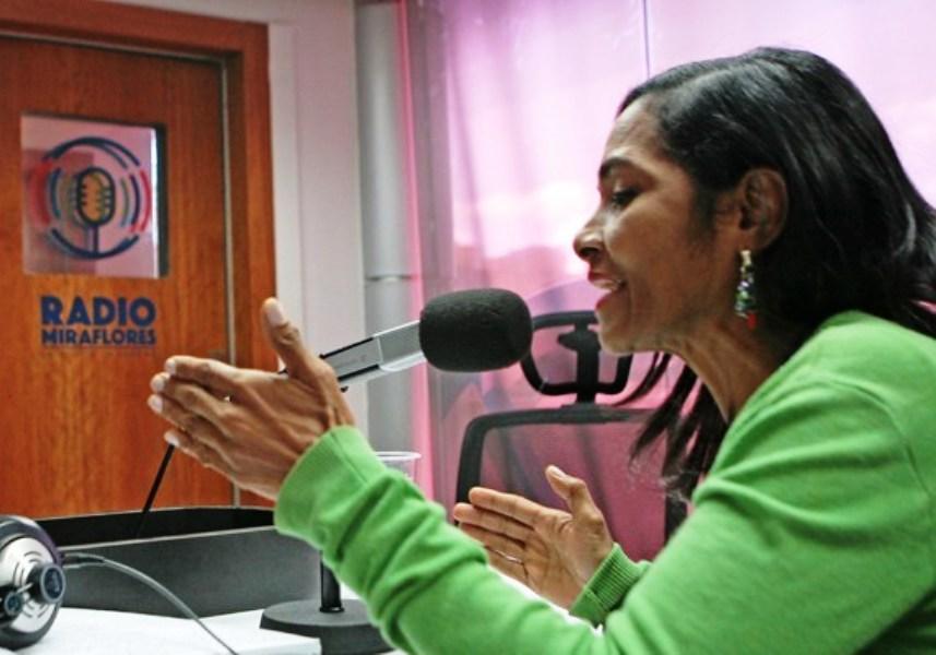 Magaly Celis, Jefa de la División de Medios Comunitarios y Alternativos de Conatel