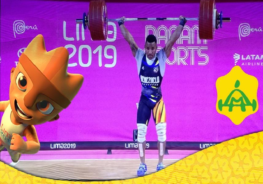 Julio César Cedeño conquistó la medalla de bronce en pesas
