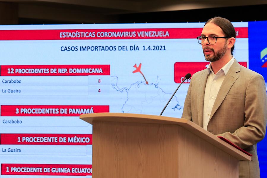 Venezuela con 1.254 nuevos casos y 13 muertes por COVID19